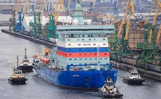 """Атомният ледоразбивач """"Арктика"""" ще бъде предаден в пробна експлоатация с един повреден двигател"""