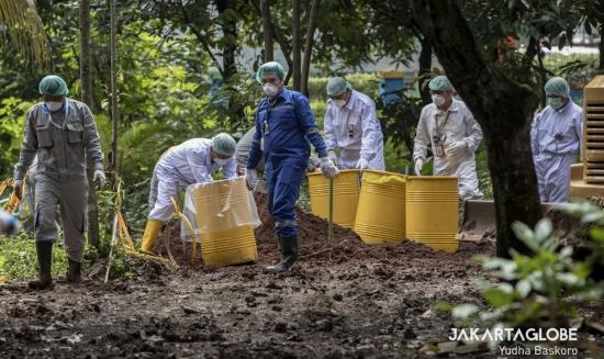 Индонезия – Нелегален бизнес по дезактивация може да е причина за замърсяването с цезий-137 през януари 2020 г.