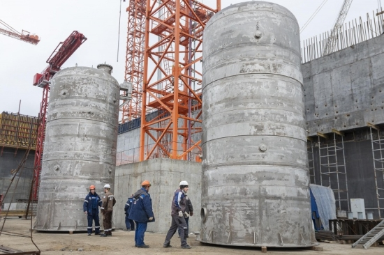 Курска АЕЦ-2 – Монтирано е първото едрогабаритно оборудване в химичния цех