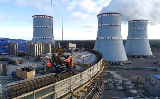 Ленинградска АЕЦ – Физическият пуск на новия енергоблок ще бъде през април