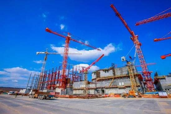 В Курската АЕЦ-2 бяха бетонирани стените на резервния пункт за управление на първи енергоблок