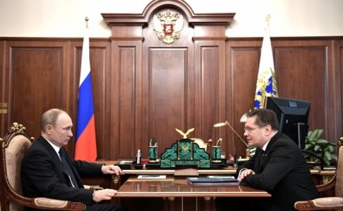 Президентът на РФ възложи да се разработи програма за развитие на ядрената наука и технологии в Руската федерация