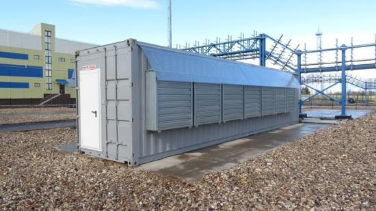 """Първите контейнерни центрове за обработване на данни (ЦОД) бяха инсталирани на площадката на Центъра за данни """"Калинински"""""""