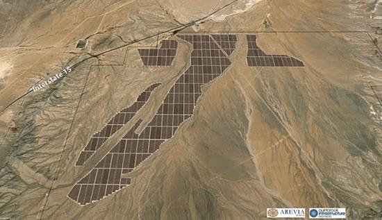 Правителството на САЩ даде разрешение за изграждане на 690 MW слънчева електроцентрала