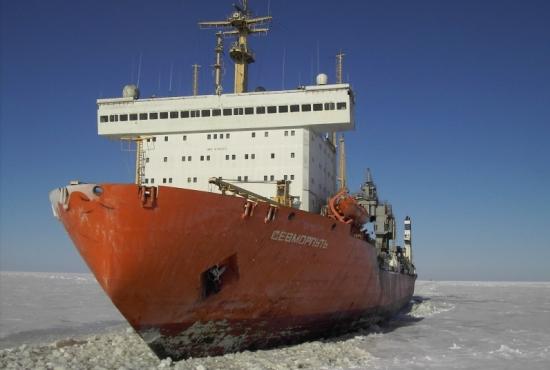 Атомният контейнеровоз «Севморпуть» се връща в Мурманск