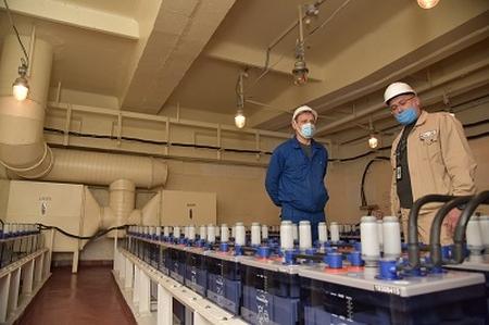 Запорожска АЕЦ – Завърши замяната на акумулаторните батерии на 4 енергоблок