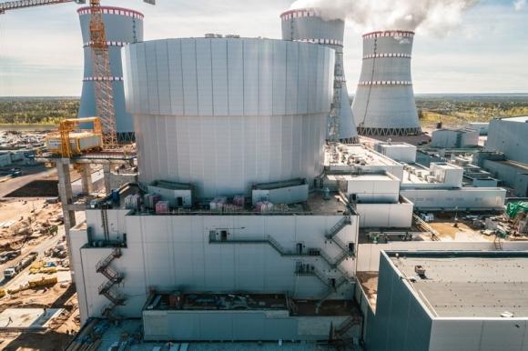 Ленинградска АЕЦ – Завършена е топлоизолацията на сградата на реактора на енергоблок № 6