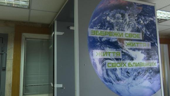 Украйна – На Запорожската АЕЦ монтираха дезинфекционен тунел