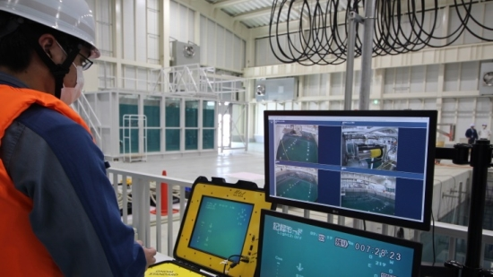 """АЕЦ """"Фукушима-1″ – TEPCO обследва басейна за отлежаване на касетите (БОК) на втори енергоблок"""