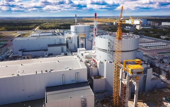Новият енергоблок на Ленинградската АЕЦ е готов за етапа на физическия пуск