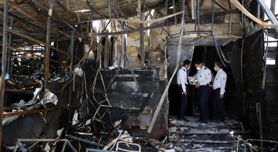 """Иран – """"Гепардите на родината"""" поеха отговорност за пожара в ядрения обект Натанз"""