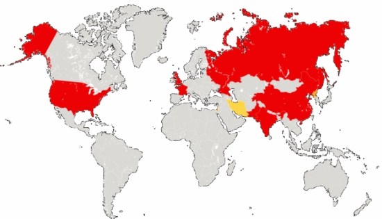 """Публикувана е нова информация за броя на бойните глави на страните от """"ядрения клуб"""""""