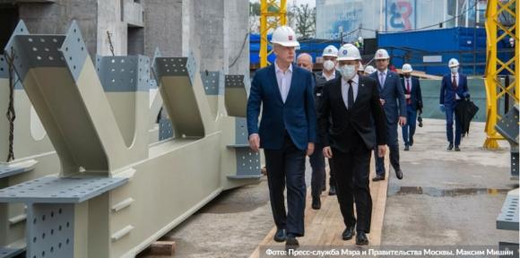 Москва – На територията на ВДНХ се изгражда павилион «Атом»