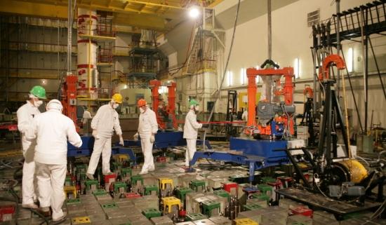 В Ленинградската АЕЦ (РБМК-1000) е въведена технология за доизгаряне на горивото от спрените енергоблокове