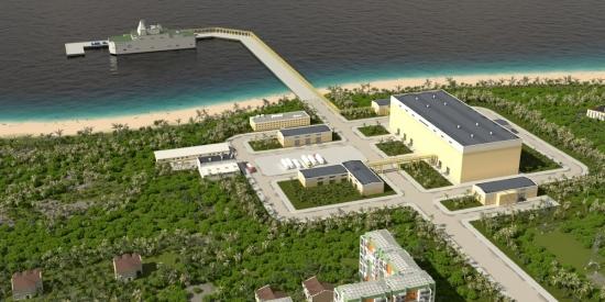 Русия – «Айсберг» разработи проект на плаваща АЕЦ за страни с горещ климат