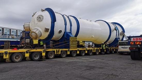 ЮАР – Първият парогенератор от необходимите за замяна е доставен на АЕЦ Koeberg