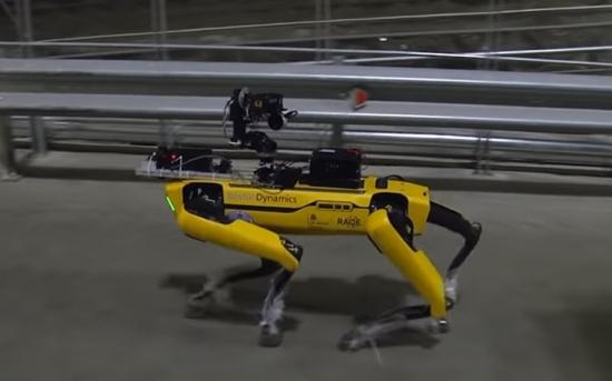 Роботът-куче от Boston Dynamics извърши търсене на замърсени зони в Чернобил