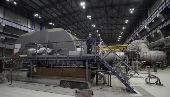 """Ленинградска АЕЦ – Първото рзвъртане """"толчок"""" на турбината беше извършено при 30% мощност на РУ"""