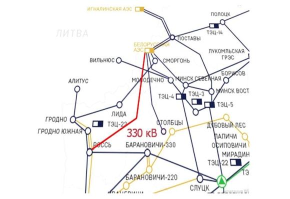 Беларуска АЕЦ – Включен е последният високоволтов електропровод към енергийната система на страната