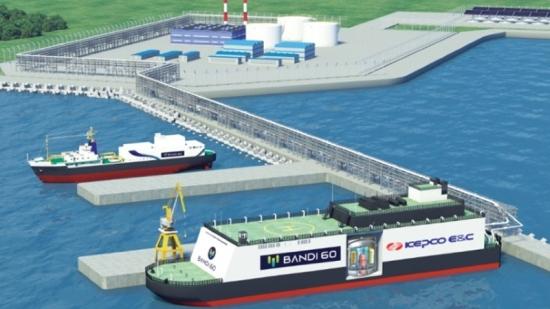 Южнокорейската KEPCO и корабостроителницата Daewoo ще си сътрудничат за разработване на плаващи атомни електроцентрали