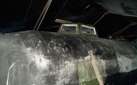В Колумбия е заловена електрическа подводница на наркодилъри (снимки)