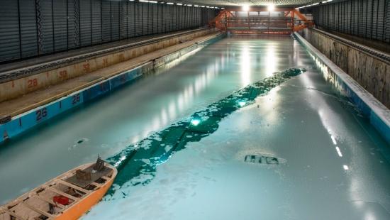 Как се правят краш тестове за атомни ледоразбивачи?