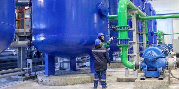 Очистване на течни РАО от урановите рудници без използване на химикали