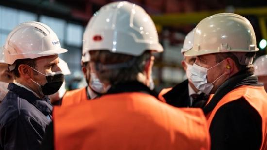 Френският президент Еманюел Макрон обяви необходимостта от по-нататъшно развитие на ядрената индустрия
