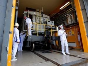"""Чернобилската АЕЦ завърши транспортирането на отработено ядрено гориво като част от """"горещите"""" изпитания на ХОЯГ-2"""