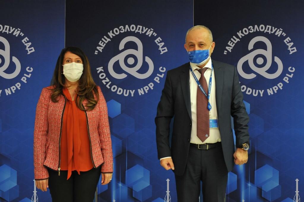 "Американският посланик Херо Мустафа посети АЕЦ ""Козлодуй"""