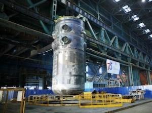 Реакторът ВВЭР-ТОИ премина хидравлични тестове в подземен изпитвателен стенд – кесон