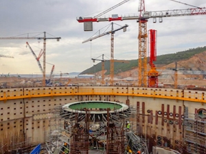 """На строителната площадка на турската АЕЦ """"Akkuyu"""" е монтирана опорната ферма от въглеродна стомана"""