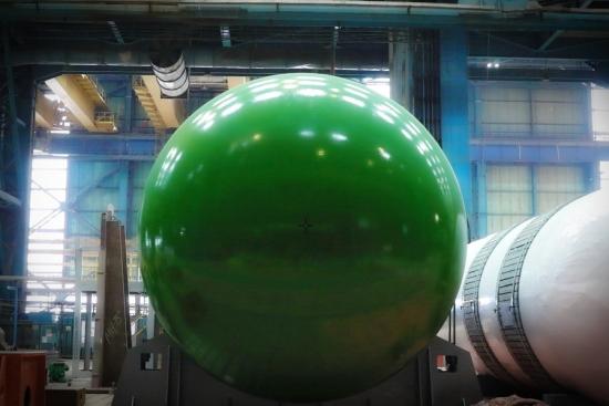 """""""Атоммаш"""" завърши подготовката за експедиция на ядрения реактор ВВЭР-ТОИ за първи блок на Курската АЕЦ-2"""