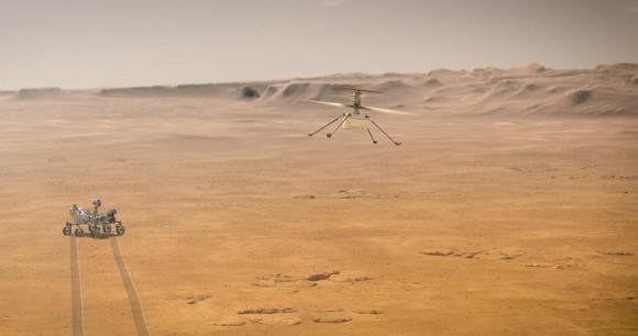 НАСА: В марсолета Ingenuity (Находчивост) се използва софтуер с отворен код и Linux