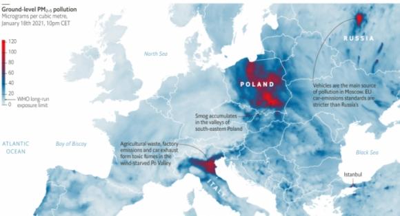 Защо поляците се жалват от качеството на въздуха през зимата?