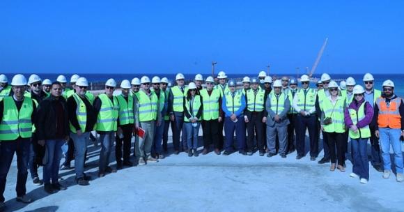 Ръководството на Росатом посети строителната площадка на АЕЦ Ел-Дабаа: работата върви по график