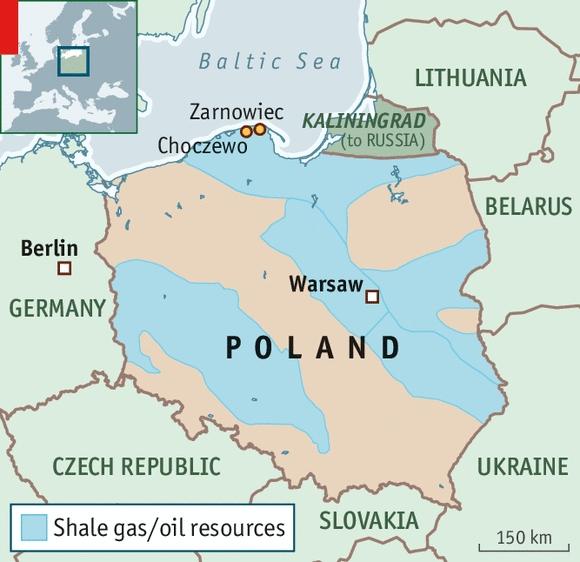 Полша избра районите Любятово-Копалин и Зарновец за потенциалното изграждане на първата атомна електроцентрала в страната