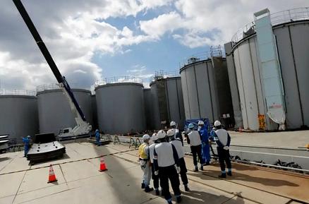 """На територията на АЕЦ """"Фукушима-1"""" е установено незначително изтичане на радиоактивни отпадъци"""