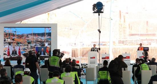 """Започна строителството на трети енергоблок на АЕЦ """"Akkuyu"""" – прессъобщение"""