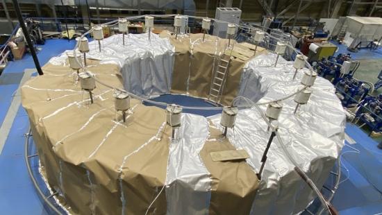 ITER – В Русия се сглобява намотка от полоидално поле