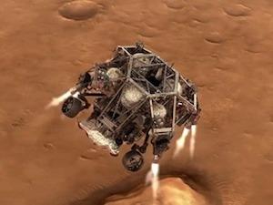Марсоходът Perseverance няма слънчеви батерии – разчита само на ядрена енергия