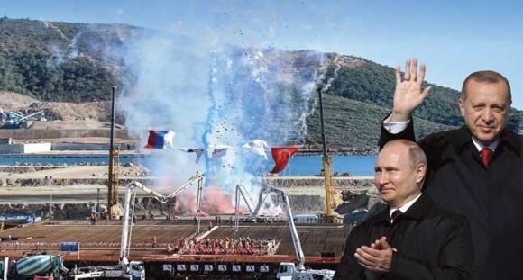 """На 10 март Путин ще вземе участие по видеоконферентна връзка (ВКС) в церемонията по започване на строителството на трети енергоблок на АЕЦ """"Аккую"""""""