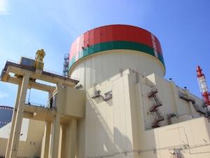 Беларуска АЕЦ – Всичките 163 имитатора на горивните касети са заредени в АЗ на реактора на втори блок