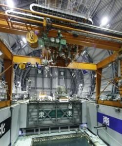 """АЕЦ """"Фукушима-1"""" – Завършиха дейностите по изваждане на горивото от басейна за отлежаване на касетите (БОК) на трети енергоблок"""