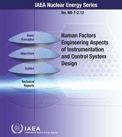 Отчитането на човешкия фактор при проектирането на АСУ ТП е най-важният компонент за безопасна експлоатация на АЕЦ