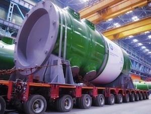 """""""Атоммаш"""" изпрати новия тип ядрен реактор за АЕЦ """"Курск-2″"""