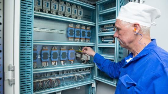 УЭХК – Автоматика ще управлява електрозахранването на центрофугите