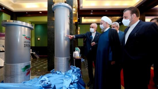 Иран обяви получаването на девет грама уран, обогатен до 60%