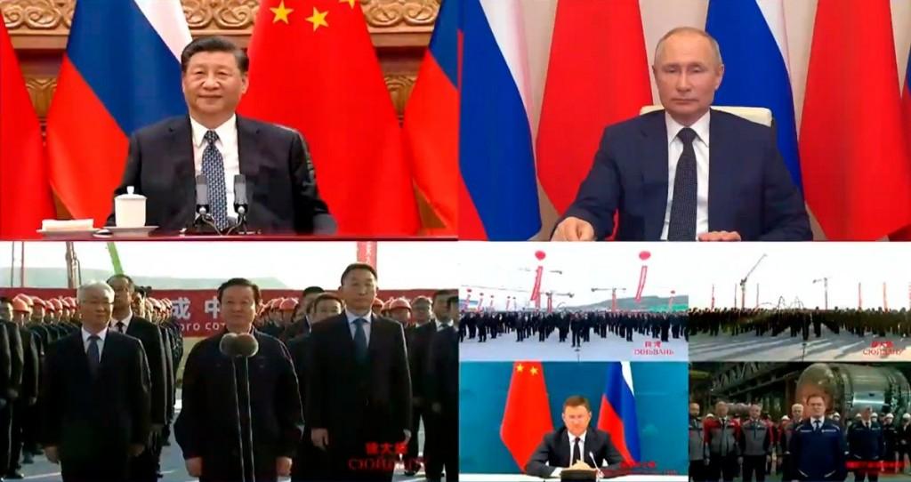 Владимир Путин и Си Дзинпин дадоха старт на строителството на четири енергоблока в Китай