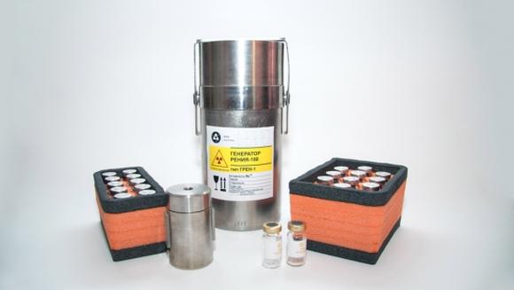 ФЭИ разработи метод за получаване на рений-188 (188Re) директно в болниците